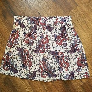Living doll m paisley skater skirt